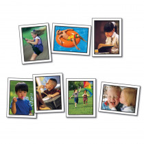 KE-845005 - Photographic Learning Cards Verbs Actions in Language Skills