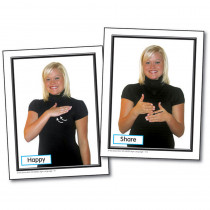 KE-845025 - Sign Language For The Early Childhood Classroom Learning Cards in Sign Language
