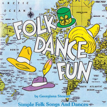 KIM7037CD - Folk Dance Fun Cd Ages 5-9 in Cds