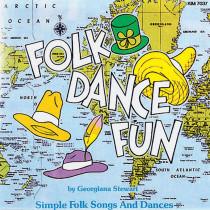 KIM7037CD - Folk Dance Fun Cd Ages 5-9 in Cds