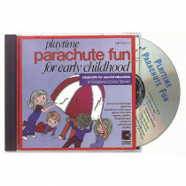 KIM7056CD - Playtime Parachute Fun Cd Ages 3-8 in Cds