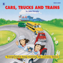 KIM9140CD - Cars Trucks & Trains Cd in Cds