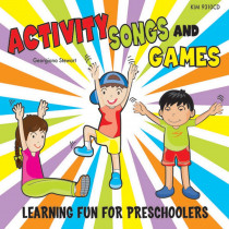 KIM9310CD - Activity Songs & Games in Cds