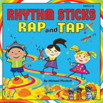 KIM9313CD - Rhythm Sticks Rap & Tap Cd in Cds