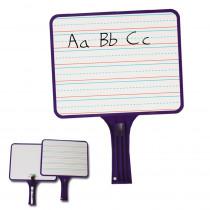 KLS5101 - Kleenslate Dry Erase Paddles 2Pk Rectangular Set in Dry Erase Boards