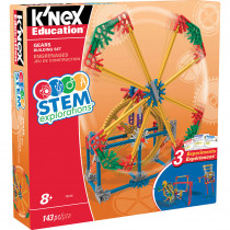 KNX79318 - Knex Stem Gears Building Set in Simple Machines