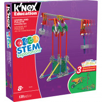 KNX79319 - Knex Stem Lever/Pulley Building Set in Simple Machines