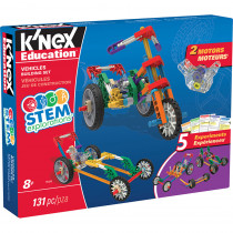 KNX79320 - Knex Stem Vehicles Building Set in Simple Machines