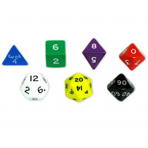 KOP10827 - Jumbo Polyhedral Dice Set Of 7 in Dice