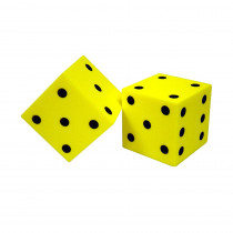 KOP11694 - Foam Dice 2 Dot Set Of 2 in Dice