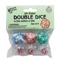 KOP12622 - 20 Sided Double Dice in Dice