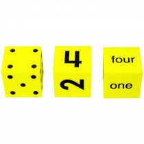 KOP13435 - Spot Word Number Dice Set Of 3 in Dice
