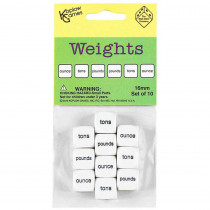 KOP18006 - Weights Dice in Measurement