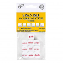 KOP18505 - Spanish Interrogative Dice Set 10Pc in Games