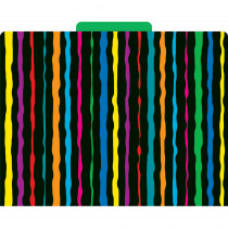 LAS1315F - Neon Stripes Functional File Folder in Folders