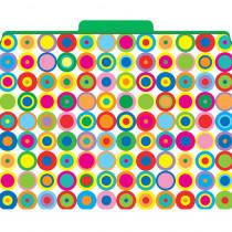 LAS1324F - Functional File Folders Disco Dots in Folders