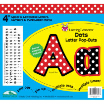 LAS1702 - Dots Letter Pop-Outs in Letters