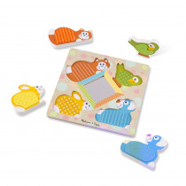 LCI1898 - Touch Feel Peek A Boo Pet Puzzle in Wooden Puzzles