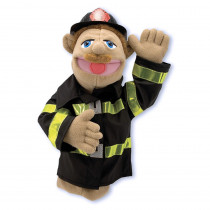 LCI2552 - Firefighter Puppet in Puppets & Puppet Theaters