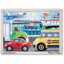 LCI2931 - Wooden Jigsaw Puzzle Transportation in Wooden Puzzles