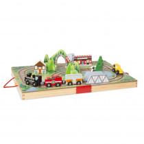 Take Along Railroad - LCI30140 | Melissa & Doug | Pretend & Play