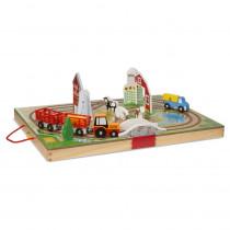 Take Along Farm - LCI30142 | Melissa & Doug | Pretend & Play