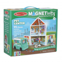 Magnetivity Magnetic Building Play Set: Pet Center - LCI30651 | Melissa & Doug | Pretend & Play