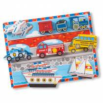 LCI3725 - Vehicles Chunky Puzzle in Wooden Puzzles