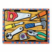 LCI3731 - Tools Chunky Puzzle in Wooden Puzzles
