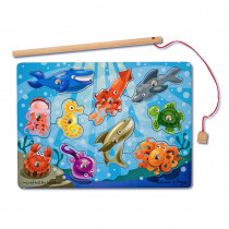 LCI3778 - Magnetic Game Puzzles Fishing in Wooden Puzzles