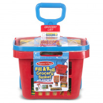 LCI4073 - Fill & Roll Grocery Basket in Shopping