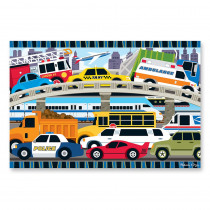 LCI4421 - Traffic Jam Floor Puzzle in Floor Puzzles