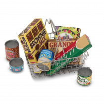 LCI5171 - Grocery Basket With Food in Play Food