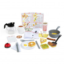 Star Diner Restaurant Play Set - LCI5188 | Melissa & Doug | Pretend & Play