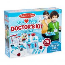 Get Well Doctor's Kit Play Set - LCI8569 | Melissa & Doug | Pretend & Play