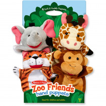 LCI9081 - Zoo Friends Hand Puppets in Puppets & Puppet Theaters