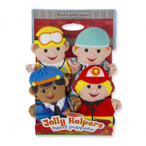 LCI9086 - Jolly Jobs Hand Puppets in Puppets & Puppet Theaters