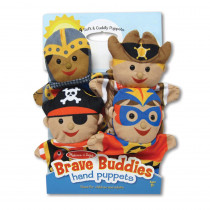 Bold Buddies Hand Puppets - LCI9087 | Melissa & Doug | Puppets & Puppet Theaters