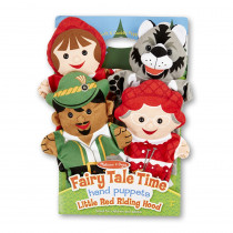 LCI9088 - Little Red Riding Hood Hand Puppets in Puppets & Puppet Theaters