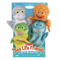 Sea Life Friends Hand Puppets - LCI9117 | Melissa & Doug | Puppets & Puppet Theaters