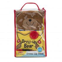Soft Book: Dress Up Bear - LCI9206 | Melissa & Doug | Pretend & Play
