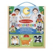 Occupations Magnetic Pretend Play Set - LCI9309 | Melissa & Doug | Pretend & Play