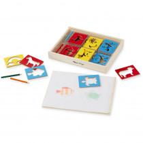 LCI9331 - Wooden Stencil Box in Stencils