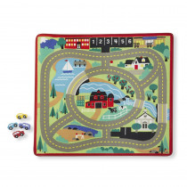 LCI9400 - Round The Town Road Rug & Car Set in Mats