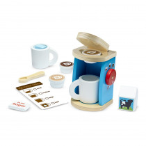 LCI9842 - Wooden Brew & Serve Coffee Set in Pretend & Play