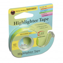LEE13975 - Removable Highlighter Tape Yellow in Tape & Tape Dispensers