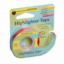 LEE13977 - Removable Highlighter Tape Orange in Tape & Tape Dispensers