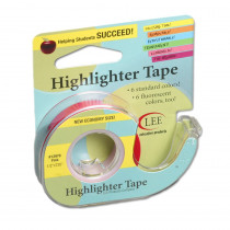 LEE13978 - Removable Highlighter Tape Pink in Tape & Tape Dispensers