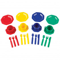 LER0294 - Pretend & Play Dish Set 24 Pieces in Homemaking