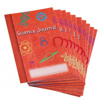 LER0389 - Science Journal Set Of 10 in Activity Books & Kits